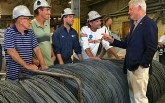 Proprietarul combinatului siderurgic de la Galati a cumparat cel mai mare producator de sarma din SUA. Ce rol va juca achizitia in concernul mondial