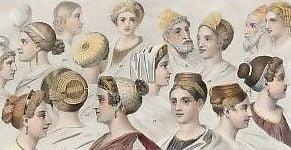 Prostituatele din Roma antica erau obligate sa se vopseasca blonde sau roscate