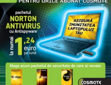 Protectia calculatorului, ultima oferta Cosmote