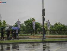 Protest Parlament motiune cenzura Grindeanu PSD