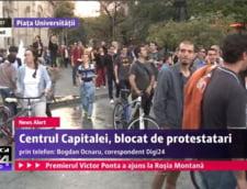 Protest Rosia Montana Universitate 2