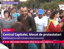 Protest Rosia Montana Universitate