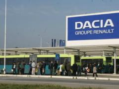 Protest al angajatilor Dacia - mii de oameni cer autostrada Pitesti-Sibiu