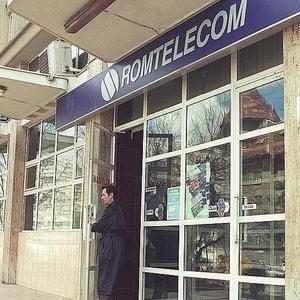 Protest al angajatilor Romtelecom