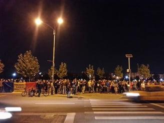 Protest anti-Rosia Montana, in Parcul Izvor din Bucuresti (Video)
