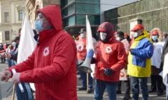 Protest anuntat de Sanitas: Sindicalistii picheteaza luni Ministerul Finantelor si Parlamentul