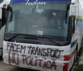 Protest cu mii de masini si camioane la Guvern: Ce promisiuni au primit transportatorii (Foto&video)