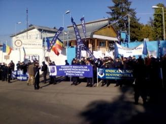 Protest de amploare, la Penitenciarul Iasi