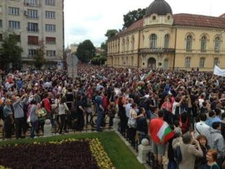 Protest de amploare in Bulgaria: Mii de oameni cer demisia premierului (Video)