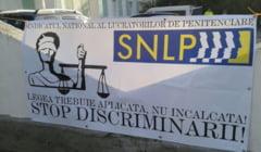 Protest de amploare la Penitenciarul Poarta Alba! Angajatii, in greva!