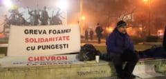 Protest extrem fata de gazele de sist: A iesit din greva foamei dupa 22 de zile