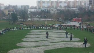 Protest in Bucuresti: Vrem parc, nu betoane!