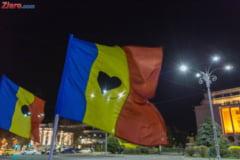 Protest in Piata Victoriei fata de adoptarea unei legi a gratierii: Romania cere fara gratiere