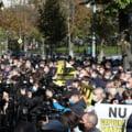 Protest la Chişinău organizat de partidele din opoziție după arestarea procurorului general