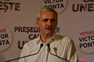 Protest la ICCJ, unde are loc un nou termen in dosarul lui Liviu Dragnea