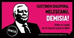 Protest la MAE: Sustinem diaspora, Melescanu demisia! (Foto) UPDATE
