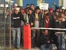 Protest la Mangalia: Angajatii vor mariri de salarii (Video)