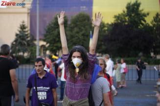 Protest la o luna de la violentele din 10 august: Nu ne mai sfidati! Fara amnistie si gratiere!