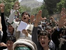 Protest pentru dreptul divin de a-si bate nevestele