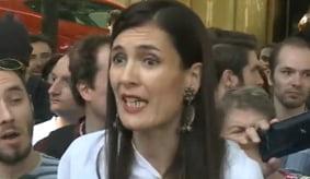 Protest pentru renumararea voturilor in Sectorul 1. Clotilde Armand: Suntem aici pentru democratie (Video)