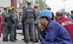 Protest spontan la ArcelorMittal Galati