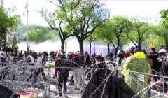 Protestatari alungați cu tunuri de apă și gloanțe de cauciuc, la Bangkok