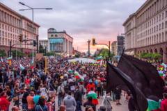 Protestatari bulgari care solicita demisia premierului Boiko Borissov au obstructionat traficul spre Grecia