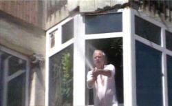 Protestatari goniti cu furtunul cu apa, la Suceava