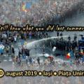 """Protestatarii care vin din Iasi in Piata Victoriei au blocat simbolic E85: """"Vrem autostrada!"""""""