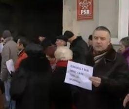 Proteste PSD de la Pitesti la Timisoara, pentru sustinerea lui Constantin Nicolescu