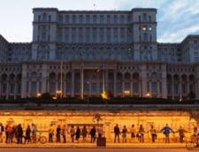 Proteste Rosia Montana: Lant uman in jurul Palatului Parlamentului
