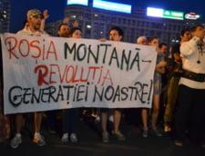 Proteste Rosia Montana Pro la Alba, contra la Universitate