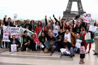 Proteste Rosia Montana la Paris - scrisoarea unui fost jandarm roman - De la cititori