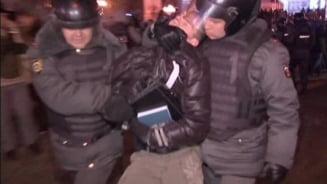 Proteste anti-Putin la Moscova: Zeci de arestati (Video)