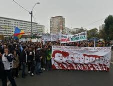 Proteste anti-Rosia Montana la Bucuresti: Mii de oameni au iesit in strada (Video)