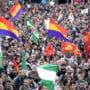 Proteste anti-austeritate cu violente in Spania: Peste 100 de raniti, zeci de arestari