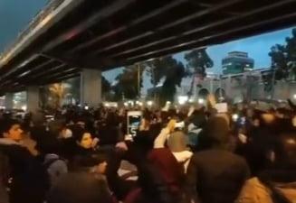 Proteste antiguvernamentale in Iran, dupa doborarea avionului ucrainean. Manifestantii cer demisia lui Khamenei (Video)