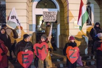 Proteste cu mii de oameni, la Budapesta si Belgrad: Ce nemultumiri au sarbii si maghiarii