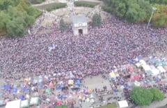 Proteste de amploare la Chisinau: Moldovenii nu sunt robi! (Video)
