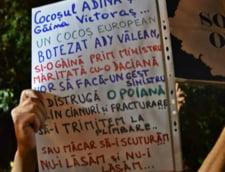 Proteste fata de proiectul Rosia Montana, pentru a patra zi, la Universitate