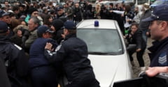 Proteste in Bulgaria: Manifestatii s-au batut cu politistii