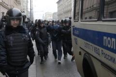Proteste in Rusia, de ziua lui Vladimir Putin. Au fost anuntate manifestatii in zeci de orase