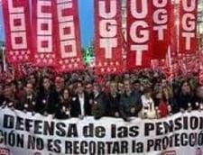 Măsuri disperate în Spania: Îngheţarea pensiilor şi creşterea accelerată a vârstei de pensionare