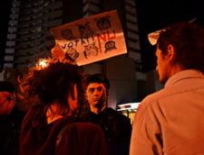 Proteste in strada fata de proiectul Rosia Montana