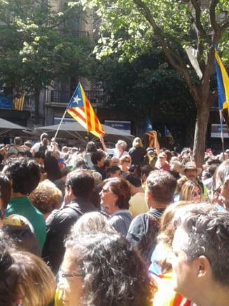 Proteste la Barcelona: Politia a facut arestari in Guvernul separatist. Milioane de buletine de vot au fost confiscate (Foto&Video)