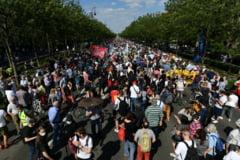 Proteste la Budapesta impotriva planurilor de deschidere a unui campus universitar chinez VIDEO