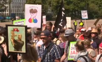 Proteste la Helsinki inainte de summitul Trump-Putin (Video)