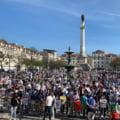 """Proteste la Lisabona. Mii de persoane au manifestat impotriva interzicerii partidului de extrema dreapta """"Chega"""""""