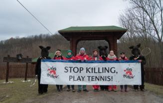 Proteste la vanatoarea de la Balc: Executiile pot fi inlocuite cu sportul alb!