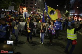Proteste masive in toata tara: 35.000 de romani au iesit in strada sa apere Justitia de guvernanti